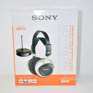 Cuffie Wireless Sony MDR-RF800RK