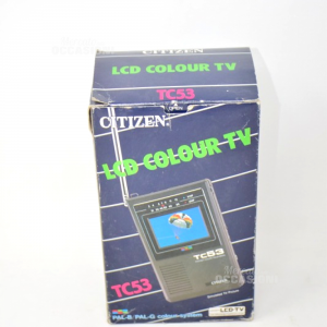 Radio Lcd Colour TV Citizen