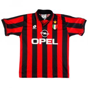 1996-97 Ac Milan Maglia Home S