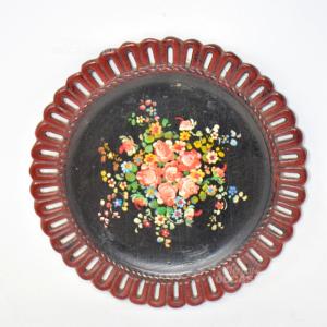 Piatto Bodò Ceramica Da Appendere Decorato