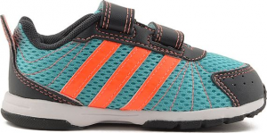SNEAKERS ADIDAS SNICE 3 CF I B40141 CELESTE/ORANGE