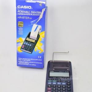 Calcolatrice Casio HR-8TER