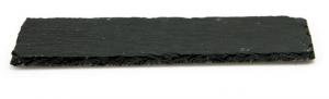 Piatto rettangolare da portata in ardesia cm.50x25