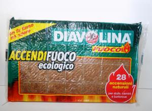 Accendifuoco Ecologico 28 CUBI