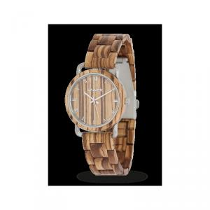 Orologio in legno GRETA 36 mm