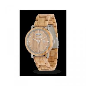 Orologio in legno FILIPPO 42 mm