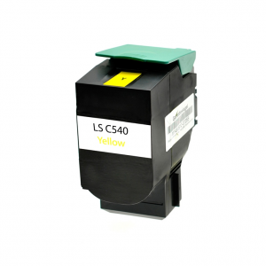 Toner Compatibile con Lexmark C540 Yellow 2K