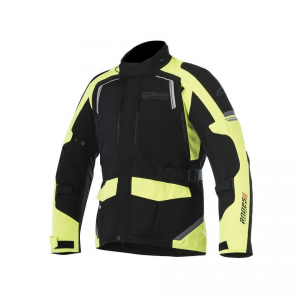 GIACCA MOTO ALPINESTARS ANDES V2 DRYSTAR JACKET BLACK YELLOW FLUO COD. 3207517