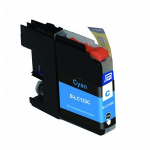 Cartuccia Compatibile con BROTHER LC121 LC123 Ciano New-Chip