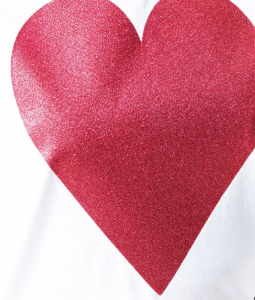 T-shirt cuore Love Moschino