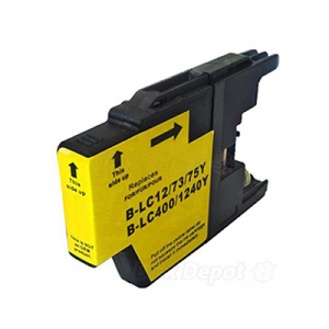 Cartuccia Compatibile con BROTHER LC1240 Yellow