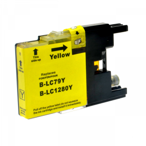 Cartuccia Compatibile con BROTHER LC1280XL Yellow