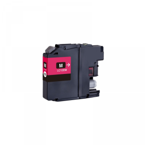 Cartuccia Compatibile con BROTHER LC12E Magenta