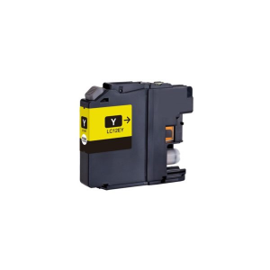 Cartuccia Compatibile con BROTHER LC12E Yellow