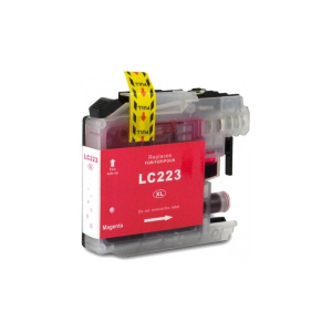Cartuccia Compatibile con BROTHER LC223 Magenta New Chip