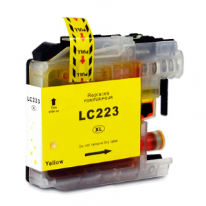 Cartuccia Compatibile con BROTHER LC223 Yellow New Chip
