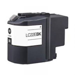 Cartuccia Compatibile con BROTHER LC22E XL BK