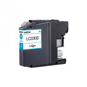 Cartuccia Compatibile con BROTHER LC22E XL Ciano
