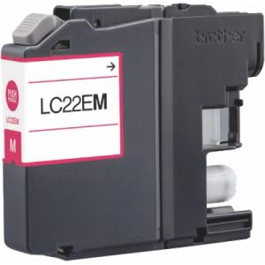 Cartuccia Compatibile con BROTHER LC22E XL Magenta