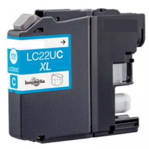 Cartuccia Compatibile con BROTHER LC22U XL Ciano