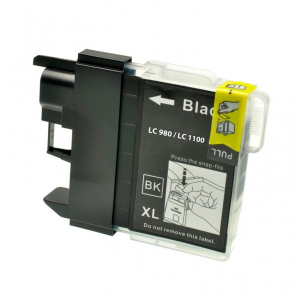 Cartuccia Compatibile con BROTHER LC980 LC-1100 BK