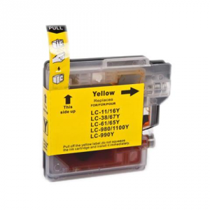 Cartuccia Compatibile con BROTHER LC980 LC-1100 Yellow