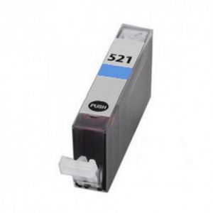 Cartuccia Compatibile con CANON CLI521 Ciano con chip