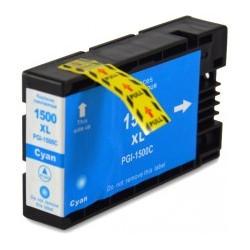 Cartuccia Compatibile con CANON PGI 1500 inchiostro Pigmentato Ciano
