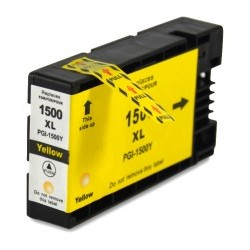 Cartuccia Compatibile con CANON PGI 1500 inchiostro Pigmentato Yellow