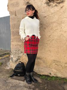 Minigonna scozzese