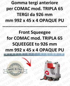 TRIPLA 65  Vorder Sauglippen für scheuersaugmaschinen COMAC