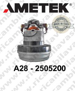 Vacuum Motor Amatek ITALIA A28 - 2505200 for vacuum cleaner
