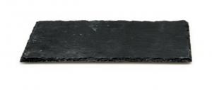 Piatto rettangolare da portata in ardesia cm.35x25