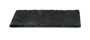 Piatto rettangolare in ardesia cm.30x10