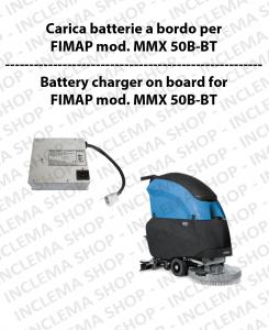 Carica Batteria a Bordo para fregadora FIMAP mod. MMX 50 B-BT