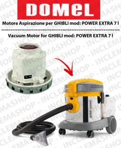 POWER EXTRA 7 l moteur aspiration  DOMEL pour aspirateur GHIBLI