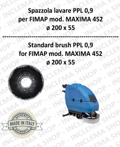 Strandard Wash Brush  for Scrubber Dryer FIMAP model MAXIMA 452 PPL 0,9