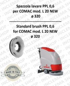 L 20 NEW Standard Bürsten PPL 0,60 für scheuersaugmaschinen COMAC