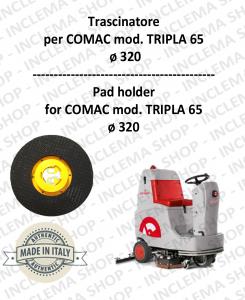 Plateau (Pad Holder) pour autolaveuses COMAC mod. TRIPLA 65