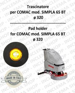 Plateau (Pad Holder) pour autolaveuses COMAC mod. SIMPLA 65 BT
