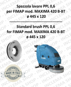 Strandard Wash Brush PPL 0,6 for Scrubber Dryer FIMAP mod. MAXIMA 420 B-BT