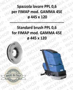 GAMMA 45E Standard Bürsten PPL 0,60 für scheuersaugmaschinen FIMAP