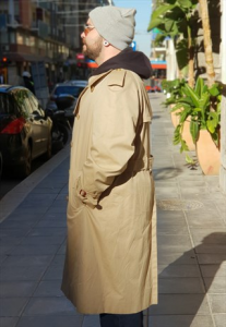 IMPERMEABILE TRENCH CLASSICO VINTAGE BY HERNO UOMO ANNI 90