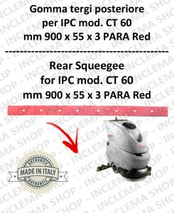 CT 60 Bavette arrière pour autolaveuses IPC