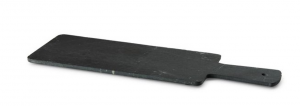 Tagliere rettangolare in ardesia con manico cm.30x10