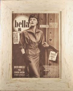 Quadro vintage Bella n. 50