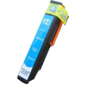 Cartuccia Compatibile con EPSON T2432 XL Ciano 24XL