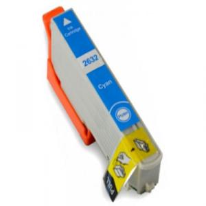 Cartuccia Compatibile con EPSON T2632 XL Ciano 26XL