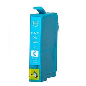 Cartuccia Compatibile con EPSON T3472 34XL Ciano