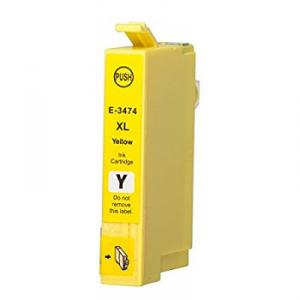 Cartuccia Compatibile con EPSON T3474 34XL Yellow